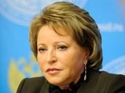 La présidente du Conseil de la Fédération de Russie en visite officielle au Vietnam