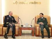 Le chef d'état-major général reçoit le commandant de l'U.S. Army Pacific