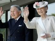 Japon: la visite de l'empereur Akihito et de son épouse Michiko, un jalon historique