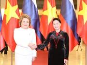 La présidente du Conseil de la Fédération russe en visite officielle au Vietnam