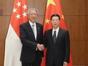 La Chine et Singapour définissent les priorités de leur coopération future