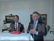 Rencontre avec des députés d'amitié européens en Belgique