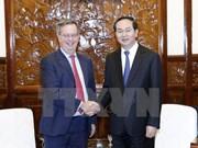 Le président Trân Dai Quang reçoit l'ambassadeur d'Espagne