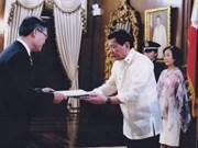 Philippines et Vietnam doivent promouvoir leur coopération multiforme