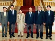 Le PM reçoit trois secrétaires généraux adjoints des Nations Unies