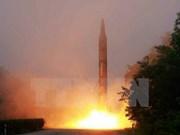 Le Vietnam dit sa préoccupation sur quatre tirs de missiles nord-coréens