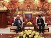 Hanoi souhaite une coopération économique, culturelle et touristique avec Athènes
