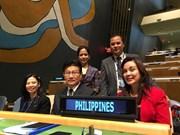Les Philippines ratifient l'Accord de Paris sur les changements climatiques