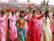 Honneur à la beauté des femmes vietnamiennes à Macao (Chine)
