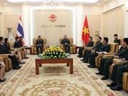 Vietnam et Thaïlande renforcent leur coopération de défense