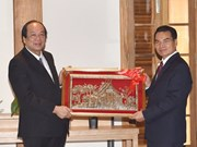 Vietnam-Laos : les deux bureaux gouvernementaux renforcent leur coopération