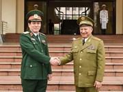 Vietnam et Cuba souhaitent renforcer leur coopération dans la défense