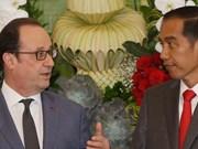 Indonésie et France s'engagent à renforcer leur coopération