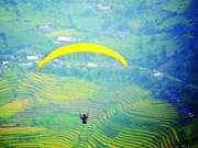 Bientôt le festival de parapente au col Khau Pha à Yen Bai
