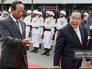 Les ministères thaïlandais et cambodgien de la Défense établissent une ligne ''rouge''