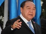 Thaïlande : les élections générales prévues en 2018