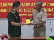 Des attachés militaires en visite à Can Tho, Ho Chi Minh-Ville et Khanh Hoa