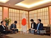 Une délégation de haut rang de Ho Chi Minh-Ville en visite au Japon