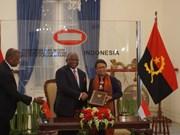 L'Indonésie et l'Angola renforcent leurs relations