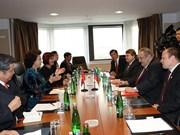 Nguyên Thi Kim Ngân rencontre le président de l'Association R.tchèque – Vietnam