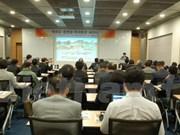 Présentation des potentiels de coopération de Hung Yen à des entreprises sud-coréennes