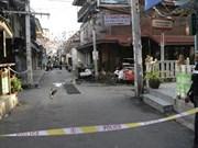 Série d'attentats dans le Sud de la Thaïlande