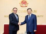 Intensification de la coopération avec la Biélorussie et le Cambodge contre la criminalité
