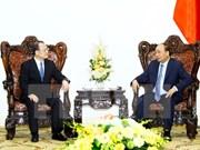 Le Premier ministre reçoit le président de la Chambre de commerce Hong Kong-Vietnam