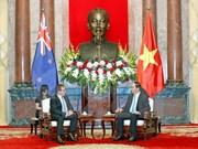 Le président Tran Dai Quang reçoit le ministre néo-zélandais des AE