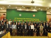 Le Vietnam à la 15ème réunion du Groupe de travail de l'ASEAN sur les villes durables