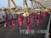Clôture du festival des métiers traditionnels de Huê 2017
