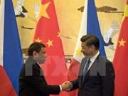 Les présidents chinois et philippin s'entretiennent au téléphone