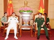 Dynamiser la coopération entre les marines vietnamienne et chinoise