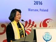 La vice-présidente du Vietnam Dang Thi Ngoc Thinh part pour la Mongolie et le Japon