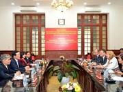 Vietnam - Slovaquie : renforcer la coopération dans la justice