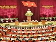 Cinquième journée de travail du 5e Plénum du Comité central du Parti