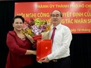 Nguyen Thien Nhan devient le secrétaire du Comité du Parti pour HCM-Ville