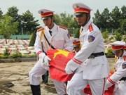 Inhumation des restes de soldats vietnamiens tombés au Cambodge et au Laos