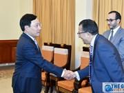 Le vice-PM et ministre des AE reçoit l'ambassadeur du Maroc