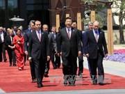Le président Tran Dai Quang termine sa visite d'Etat en Chine