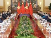 Promouvoir le partenariat de coopération stratégique intégrale Vietnam-Chine