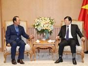 Le vice-Premier ministre Trinh Dinh Dung reçoit le PDG de Korea Southern Power