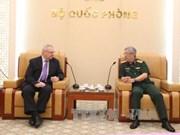 Le général Nguyen Chi Vinh reçoit le vice-président du Conseil des affaires États-Unis – ASEAN