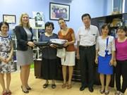 L'ambassade d'Allemagne au chevet des enfants autistes à Hanoï