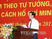 Pour que de plus en plus de personnes suivent l'exemple moral du Président Ho Chi Minh