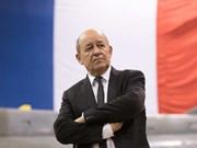 Lettre de félicitations au nouveau ministre français de l'Europe et des AE