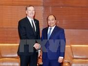 Le Premier ministre accueille le représentant américain au commerce
