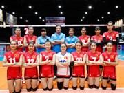 Volley-ball féminin : le Vietnam U23 remporte le bronze du Tournoi d'Asie