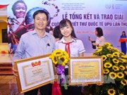 Célébration des 30 ans de la participation du Vietnam au concours UPU