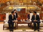 Hanoi favorise l'investissement des entreprises sud-coréennes